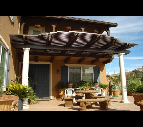 Alumawood Diy Pergola Lattice Patio Cover Kits