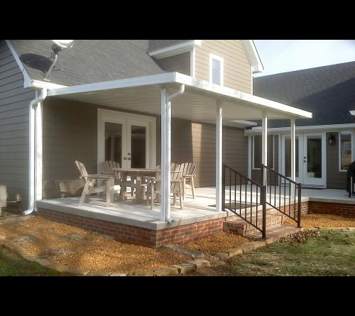 Click To View Photo Gallery! Traditional Aluminum Patio Cover ...