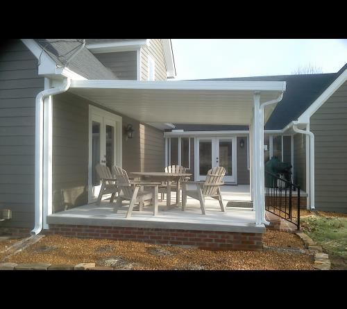 traditional aluminum patio cover kits - Patio Covering