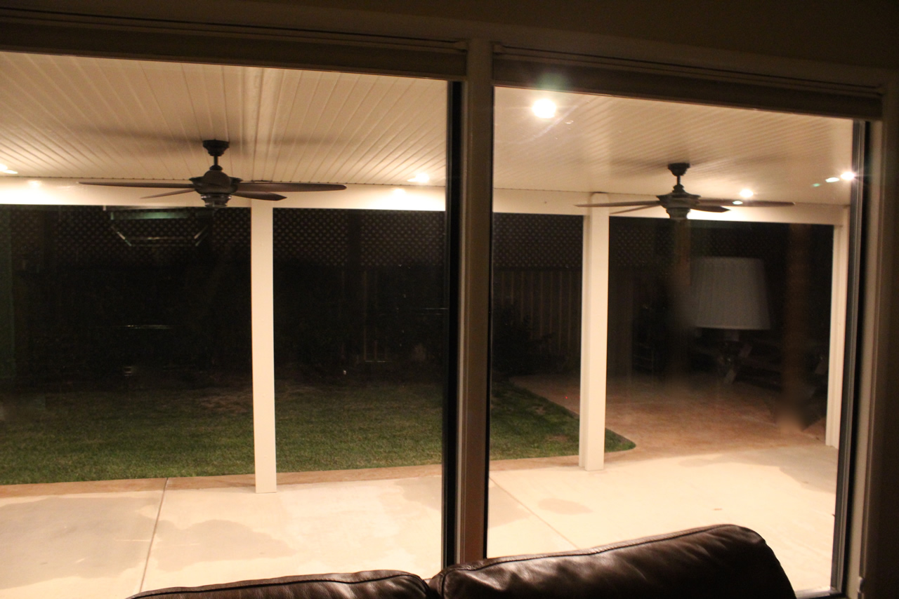 Alumawood Night Led Lights Patio Covers