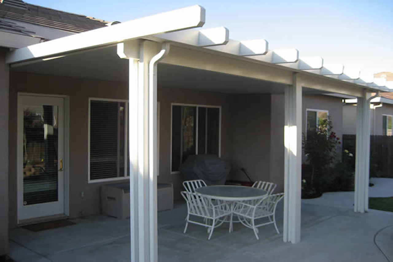 Alumawood Patio Cover Backyard
