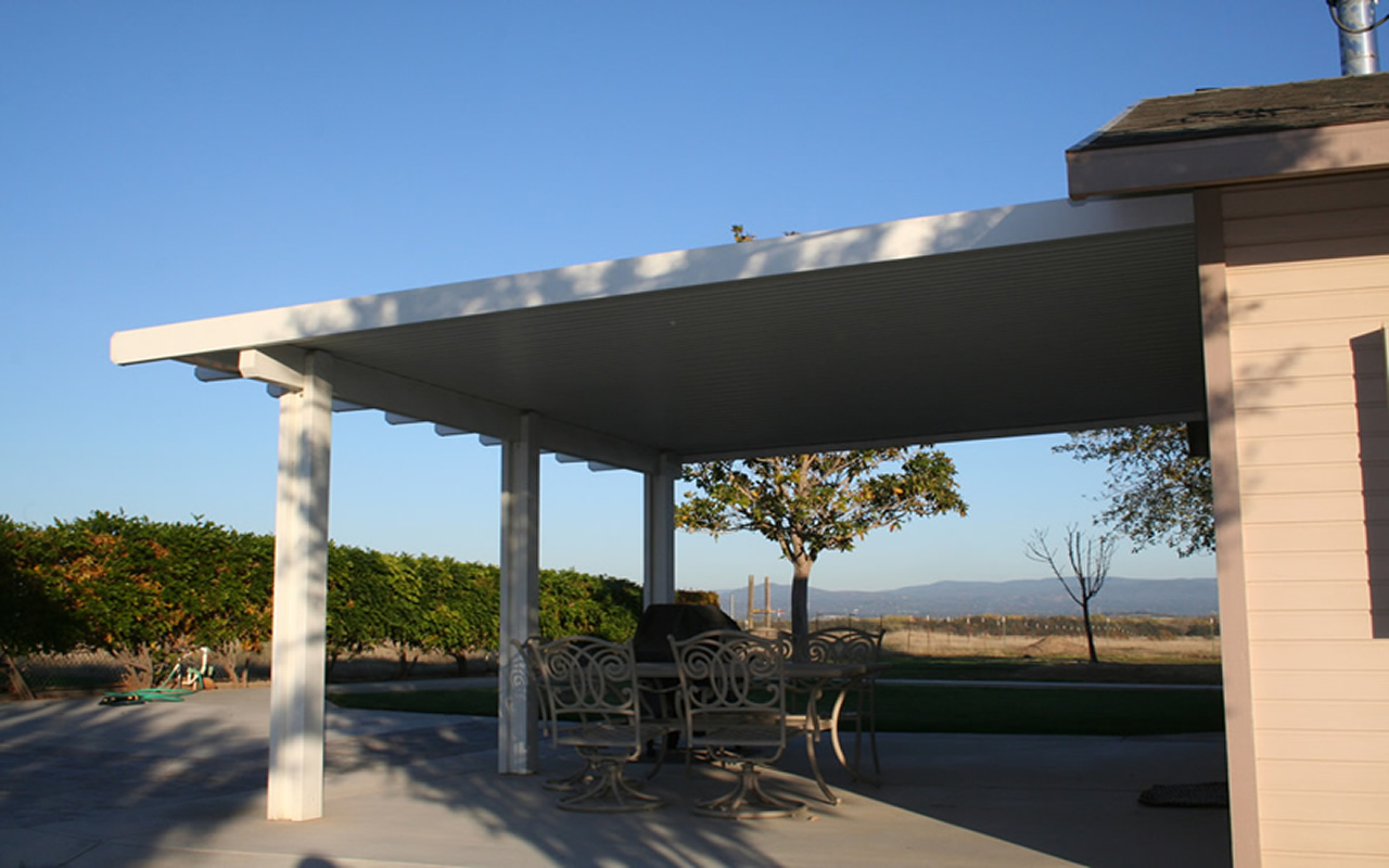 Pictures of alumawood newport patio covers for Do it yourself patio covers