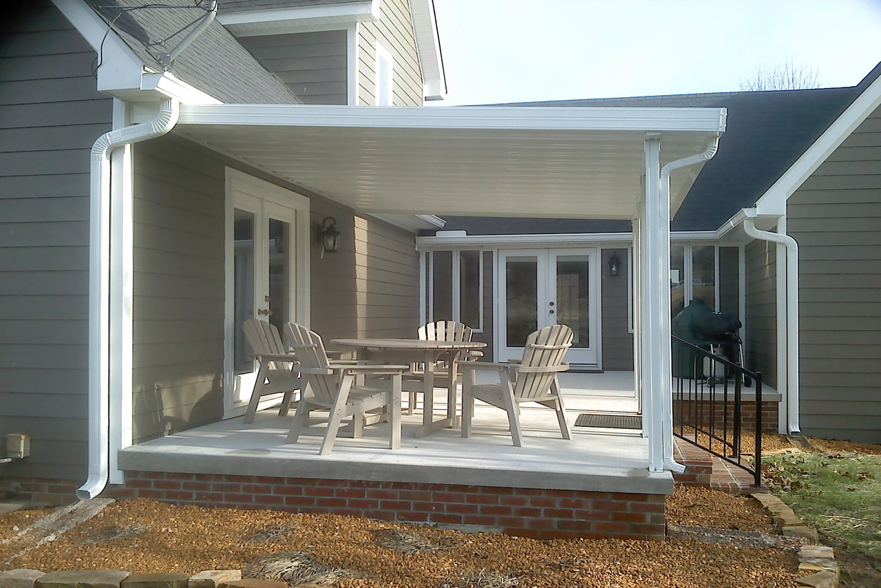 Traditional Patio Cover Kit Photo Gallery