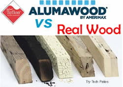 Alumawood vs Real Wood, Alumawood Pros and Cons