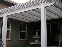 Alumawood Pergola Arbor Lattice Work
