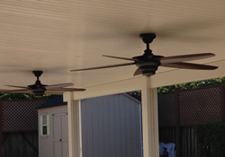 Alumawood Ceiling Fan Beam