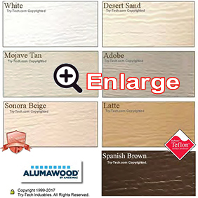 Alumawood Paint Colors