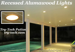 Recessed Alumawood Lights from The Light Strip