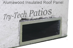 Insulated Patio Cover Fan Beam