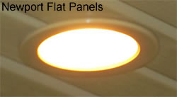 Newport Flat Pan Light