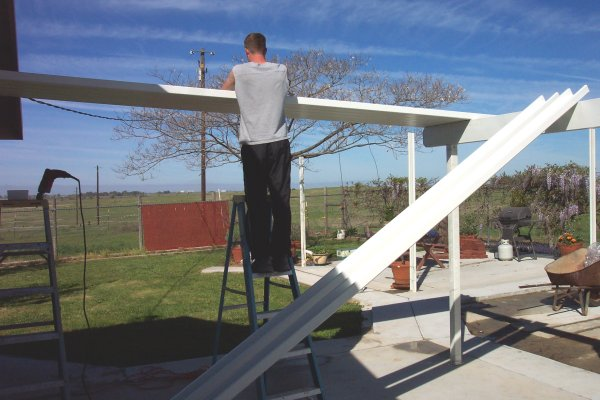 Photo gallery of alumawood patio cover installation