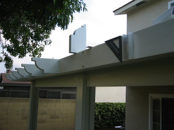 Alumawood Patio Cover Parts Photos