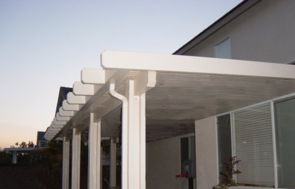 photo gallery of aluminum alumawood patio cover