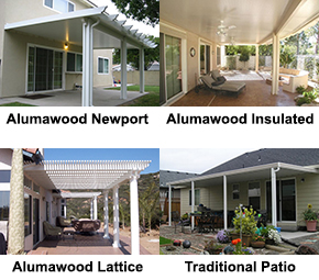 Alumawood Patio Cover, Insulated Patio Kit, Laguna Lattice, Traditional  Patio Carport.