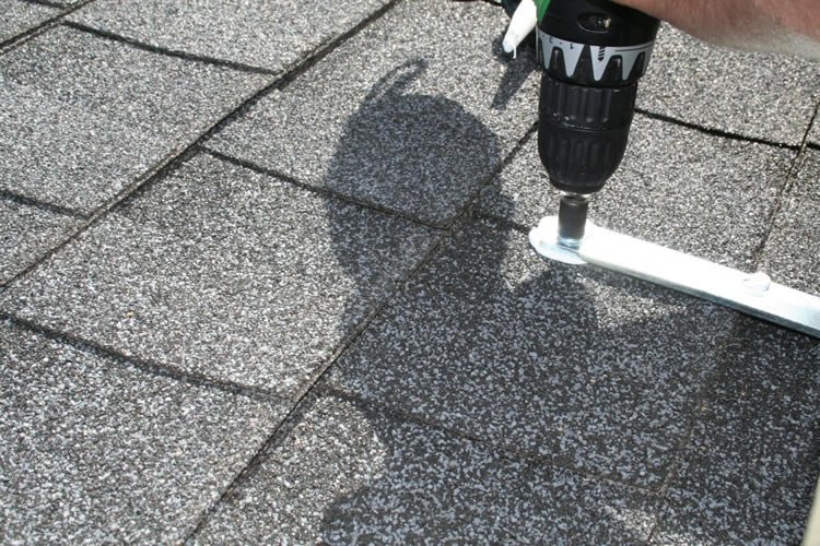 Patio Cover Roof Bracket Installation