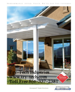 Alumawood™ Newport Patio Cover and Laguna Arbor Lattice Brochures