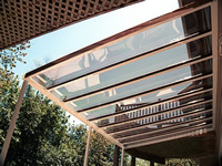 SkyVue Clear Roof Patio Cover