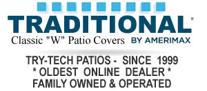 Traditional Patio Covers by Amerimax Building Products, Try-Tech Industries