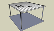 Traditional Aluminum Patio Cover Kits Aluminum Patio Covers